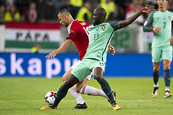 September 3, 2017 - Budapest, Hungary - Tamas Priskin of Hungary and Danilo of Portugal during the FIFA World Cup 2018 Qualifying Round match between Hungary and Portugal at Groupama Arena in Budapest, Hungary on September 3, 2017  (Credit Image: © Andrew Surma/NurPhoto via ZUMA Press)