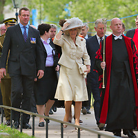 London Tue May 12 2009 HRH The Prince of Wales and HRH The Duchess of Cornwall attends a Service to mark the 90th Anniversary of the Founding of Combat Stress...Standard Licence feee's apply  to all image usage.Marco Secchi - Xianpix tel +44 (0) 845 050 6211 .e-mail ms@msecchi.com .http://www.marcosecchi.com