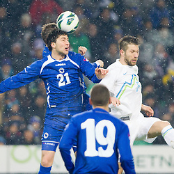 20130206: SLO, Football - Friendly match Slovenia vs Bosna and Herzegovina