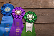 Ribbons from fairs