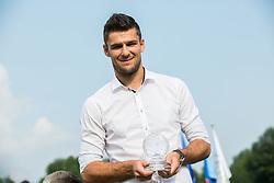 Rok Kronaveter of NK Olimpija as best shooter in season 2015/16 during NZS Draw for season 2016/17, on June 24, 2016 in Brdo pri Kranju, Slovenia. Photo by Vid Ponikvar / Sportida