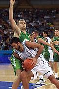 Olimpiadi Sydney 2000<br /> Italia - Lituania <br /> Nella foto: Andrea Meneghin