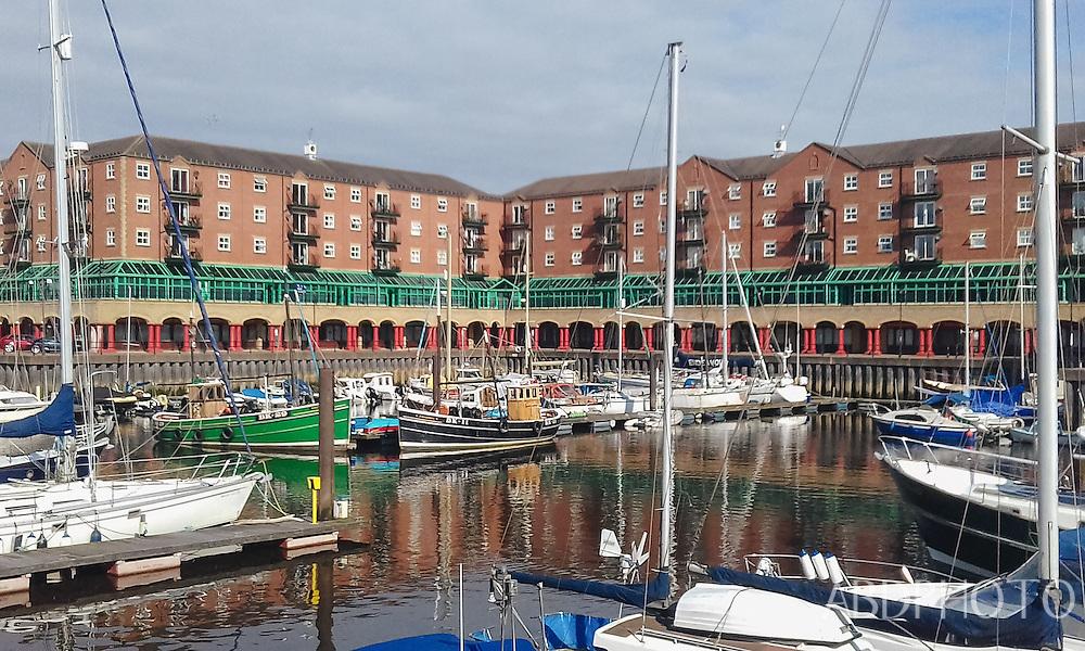 St Peters Marina, St Peters Basin, Newcastle upon Tyne, England