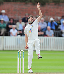 Graham Onions of Durham bowls.  - Mandatory by-line: Alex Davidson/JMP - 05/08/2016 - CRICKET - The Cooper Associates County Ground - Taunton, United Kingdom - Somerset v Durham - County Championship - Day 2