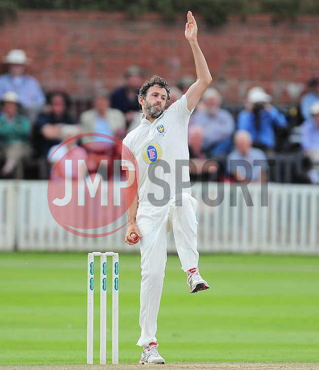 Graham Onions of Durham bowls.  - Mandatory by-line: Alex Davidson/JMP - 05/08/2016 - CRICKET - The Cooper Associates County Ground - Taunton, United Kingdom - Somerset v Durham - County Championship - Day 2