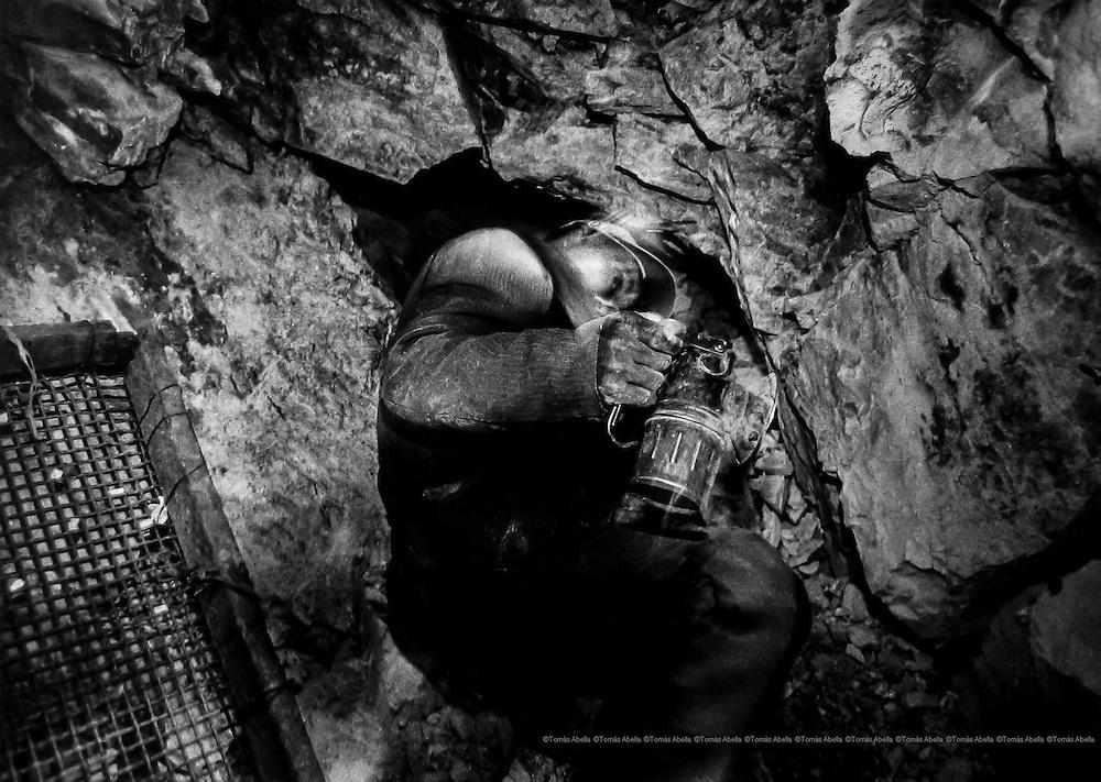 Siglo XX tin mine. Llallagua, Bolivia.