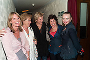 GWYNETH STRONG; SUZANNE BERTISH;  JENNIFER SAUNDERS; RUBY WAX,; JUDITH OWEN; Press night for Ruby Wax- Losing it. Duchess theatre. London. 1 September 2011. <br /> <br />  , -DO NOT ARCHIVE-&copy; Copyright Photograph by Dafydd Jones. 248 Clapham Rd. London SW9 0PZ. Tel 0207 820 0771. www.dafjones.com.