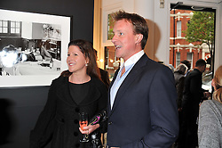 HENRY BECKWITH and his sister NICOLA BECKWITH at a private view of the late Patrick Lichfield: Nudes at The Little Black gallery, 13A Park Walk, London SW10 on 26th April 2012.