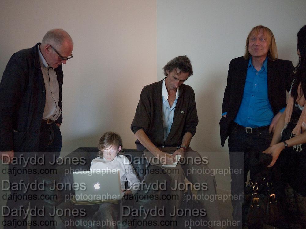 RICHARD WENTWORTH; ELLIOT ALYS; FRANCIS ALYS; JAMES PUTNAM , A story of Deception. Exhibition of work by Francis Alys. Tate Modern. London. 14 June 2010. -DO NOT ARCHIVE-© Copyright Photograph by Dafydd Jones. 248 Clapham Rd. London SW9 0PZ. Tel 0207 820 0771. www.dafjones.com.