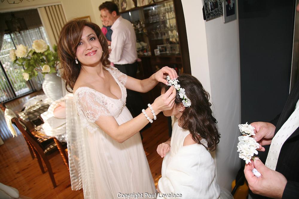 Julie Zavaglia & Michael on their Wedding Day at Sydney University.26.07.08