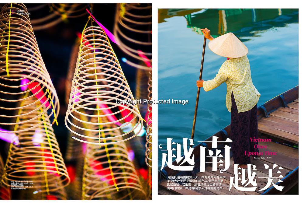 Condé Nast Traveler China, feature on Vietnam.