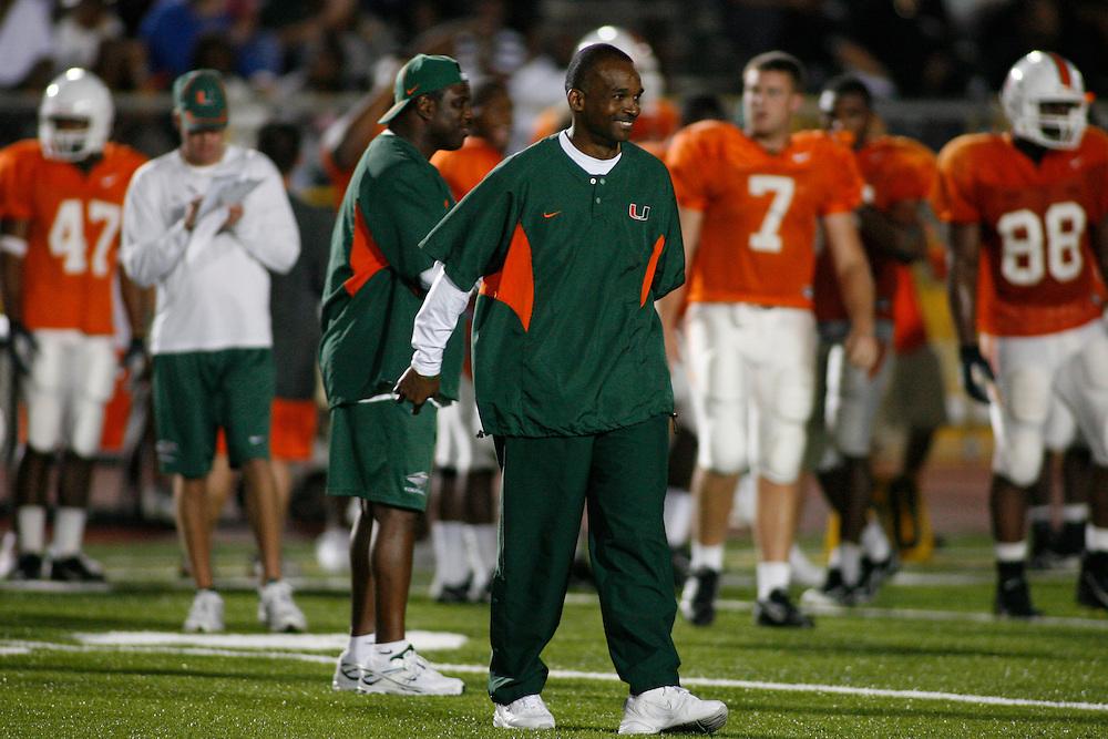 2008 Miami Hurricanes Football Spring Scrimmage @ Traz-Powell Stadium