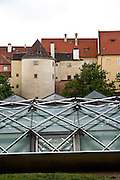 The Old Prague Castle and the Modern GreenHouse in the Royal Garden.Different views from Prague (Praha), the capital of the Czech Republic.  o (Photo: Alan Aubry)
