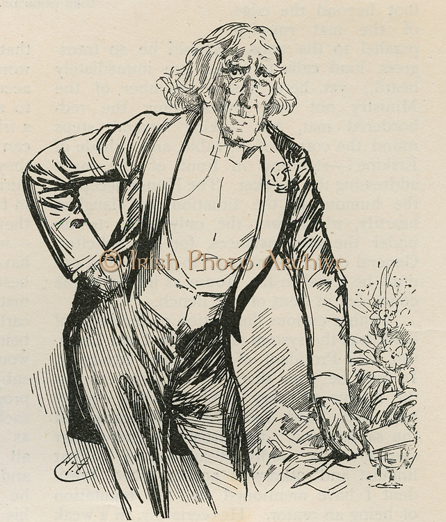Henry Irving (1838-1905) English actor-manager.