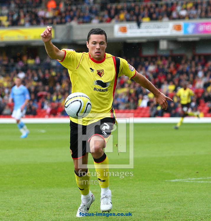 Watford - Saturday August 14, 2010: Don Cowie (7) of Watford on the ball during the Npower Championship match between Watford and Coventry City at Vicarage Road, Watford. (Pic by Andrew Tobin/Focus Images)