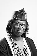 Sheila C. Berg<br /> Air Force<br /> E-8<br /> Personel<br /> Jet Engine Mechanic<br /> 1980 - 2009<br /> Gulf War<br /> Desert Storm<br /> OIF<br /> <br /> Veterans Portrait Project<br /> Charleston, SC<br /> Jewish War Veterans