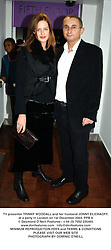 TV presenter TRINNY WOODALL and her husband JONNY ELICHAOFF, at a party in London on 1st December 2003.PPB 8