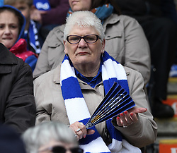 General view of Leicester City fans - Mandatory by-line: Jack Phillips/JMP - 17/04/2016 - FOOTBALL - King Power Stadium - Leicester, England - Leicester City v West Ham United - Barclays Premier League
