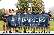 Oct. 27, 2017; Springfield, OR, USA; The Colorado Buffalo women won the Pac-12 cross country championshipsat the Springfield Golf Club.