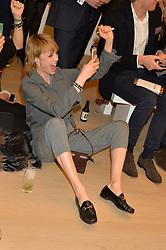 EDIE CAMPBELL at Fashions for The Future presented by Oceana's Junior Council held at Phillips Auction House, 30 Berkeley Square, London on 19th March 2015.