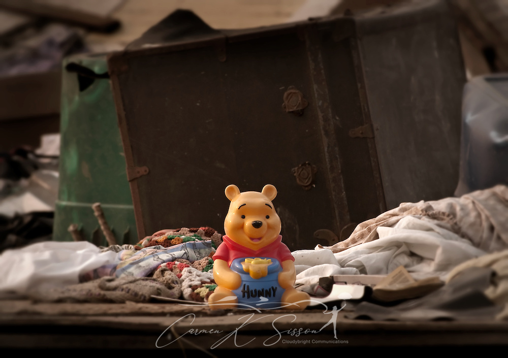 A child's toy sits among the rubble of a demolished apartment at Rosedale Court June 4, 2011 in Tuscaloosa, Ala. The housing complex was destroyed by the April 27 F-5 tornado which took 43 lives in Tuscaloosa. (Photo by Carmen K. Sisson/Cloudybright)