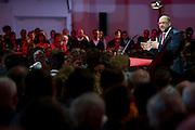 W&uuml;rzburg | Deutschland | 04.03.2016: Der designierte Kanzlerkandidat der SPD Martin Schulz spricht im Vogel Convention Center in W&uuml;rzburg vor Parteimitgliedern.<br /> <br /> hier: <br /> <br /> Sascha Rheker<br /> 20170304<br /> <br /> [Inhaltsveraendernde Manipulation des Fotos nur nach ausdruecklicher Genehmigung des Fotografen. Vereinbarungen ueber Abtretung von Persoenlichkeitsrechten/Model Release der abgebildeten Person/Personen liegt/liegen nicht vor.]