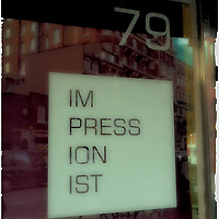 Shop window during London trip Jan. 2013.