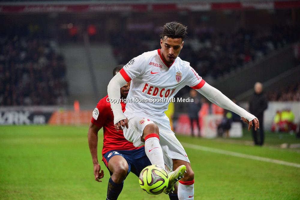 Nabil DIRAR  - 24.01.2015 - Lille / Monaco - 22eme journee de Ligue1<br />Photo : Dave Winter / Icon Sport