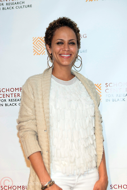 May 7, 2012- New York, NY United States: - Actress Nicole Ari Parker attends the post reception for Theater Talks at the Schomburg: A Streetcar Named Desire held at the Schomburg Center for Research in Black Culture, part of the New York Public Library on May 7, 2012 in Harlem Village, New York City. The Schomburg Center for Research in Black Culture, a research unit of The New York Public Library, is generally recognized as one of the leading institutions of its kind in the world. For over 80 years the Center has collected, preserved, and provided access to materials documenting black life, and promoted the study and interpretation of the history and culture of peoples of African descent. (Photo by Terrence Jennings) .
