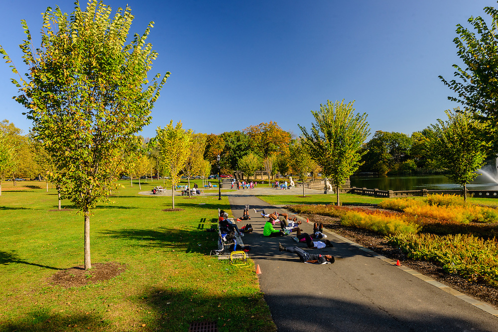 Music Court, Branch Brook Park is a county park of Essex County, Newark, New Jersey designed by Frederick Law Olmsted