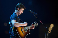 Shawn Mendes performs during the 1989 Tour at AT&T Stadium in Arlington, Texas on October 17, 2015.  (Cooper Neill)