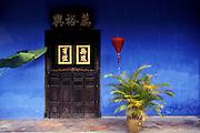 "MALAYSIA; Penang Island. Chinese mansion of Chung Fat: ""Le Maison Bleu"""
