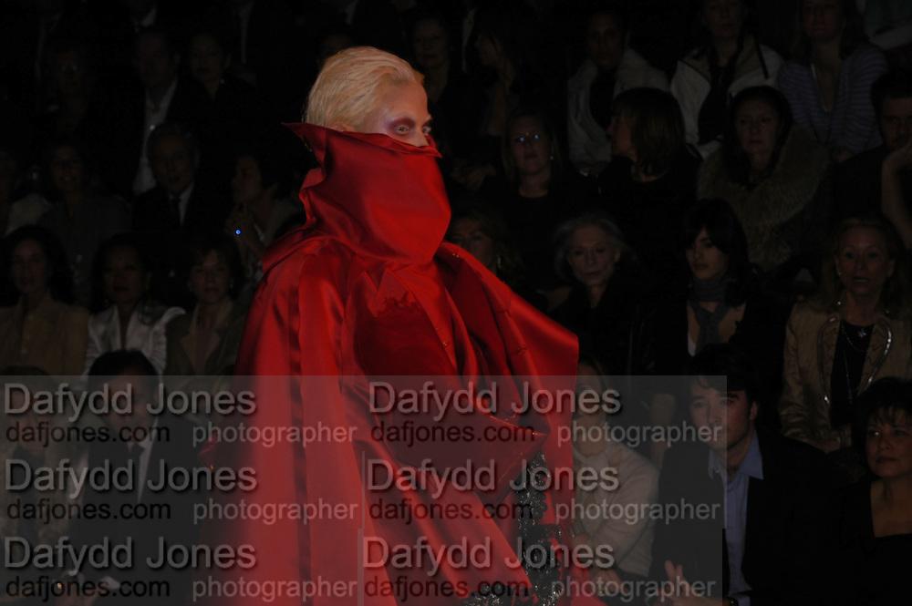 Christian Dior couture. , Polo de Paris, Bois de Boulogne. Paris.   January 2006.  ONE TIME USE ONLY - DO NOT ARCHIVE  © Copyright Photograph by Dafydd Jones 66 Stockwell Park Rd. London SW9 0DA Tel 020 7733 0108 www.dafjones.com
