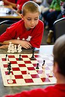 Laconia Chess Tournament at the Huot Center.  Karen Bobotas for the Laconia Daily Sun