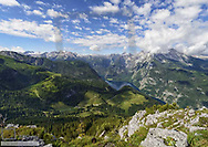 Gebirgspanorama, Nationalpark Berchtesgaden, BRD