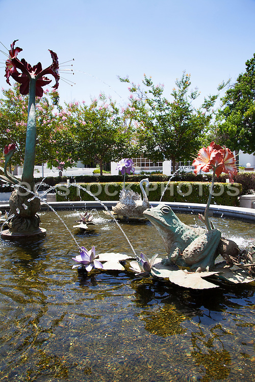 Amaryllis Fountain at Cerritos Civic Center