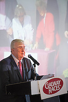07/07/2014  Repro free Chair of the Race Committee Terry Cunningham at the launch of the Galway Races Summer Festival at the Radisson Blu Hotel Galway. Photo:Andrew Downes