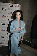 Dita von Teese, Kylie The Exhibition, private view: Victoria & Albert Museum, London, 6 February 2007.  -DO NOT ARCHIVE-© Copyright Photograph by Dafydd Jones. 248 Clapham Rd. London SW9 0PZ. Tel 0207 820 0771. www.dafjones.com.