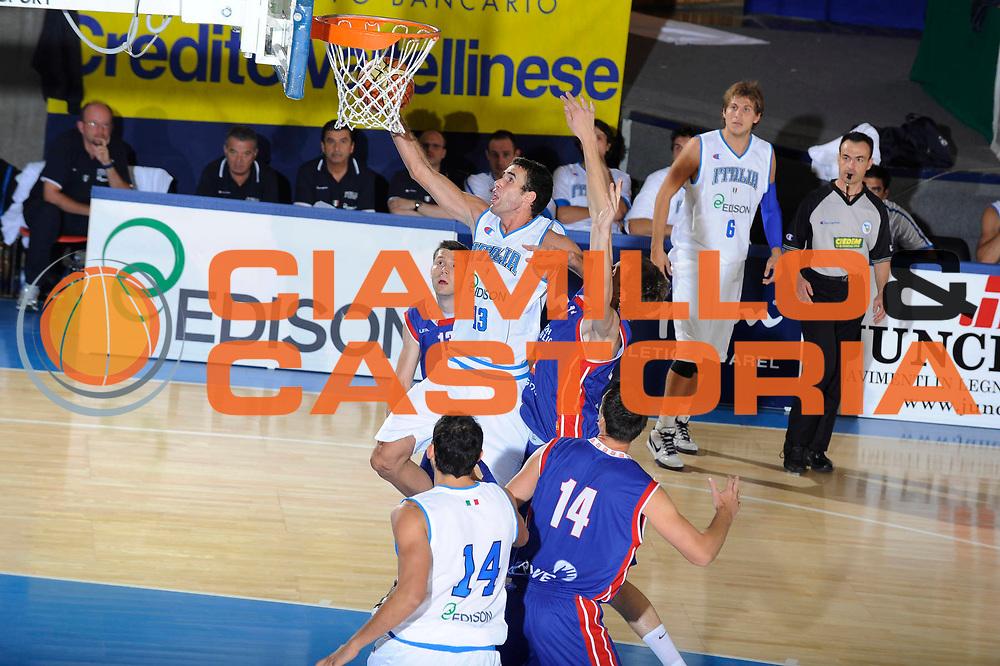DESCRIZIONE : Bormio Torneo Internazionale Maschile Diego Gianatti Italia Repubblica Ceca Italy Czech Republic  <br /> GIOCATORE : Luigi Datome<br /> SQUADRA : Italia Italy<br /> EVENTO : Raduno Collegiale Nazionale Maschile <br /> GARA : Italia Repubblica Ceca Italy Czech Republic<br /> DATA : 18/07/2009 <br /> CATEGORIA : tiro<br /> SPORT : Pallacanestro <br /> AUTORE : Agenzia Ciamillo-Castoria/G.Ciamillo