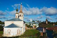 Russie, Souzdal (Suzdal), classé Patrimoine Mondial par UNESCO, ancien centre culturel et religieux faisant partie de l'Anneau d'Or, eglise Predtetchenskaia // Russia, Rossiya, Vladimir Oblast, Golden Ring, Suzdal, Unesco world heritage, Predtetchenskaia church