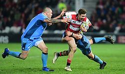 Billy Burns of Gloucester Rugby in action  - Mandatory by-line: Alex Davidson/JMP - 02/12/2017 - RUGBY - Kingsholm - Gloucester, England - Gloucester Rugby v London Irish - Aviva Premiership