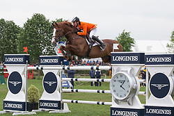 Bles Bart (NED) - Lord Sandro DDH<br /> Furusiyya FEI Nations Cup<br /> Longines Spring Classic of Flanders<br /> CSIO5 Jumping Lummen 2014<br /> © Dirk Caremans
