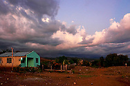 House on the south coast road from Santiago de Cuba to Pilon.