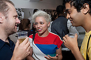NEW YOUNG PONY CLUB TAHITA BULMER; PRIYA ELAN, PUMA/London College Of Fashion - private view. London College of Fashion at Carnaby, 65 - 67 Broadwick St, London W1,