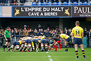JONATHAN PELISSIE to LOU during the French championship Top 14 Rugby Union match between ASM Clermont and Lyon OU on November 18, 2017 at Marcel Michelin stadium in Clermont-Ferrand, France - Photo Romain Biard / Isports / ProSportsImages / DPPI
