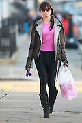 19.NOVEMBER.2011. LONDON<br /> <br /> MODEL DAISY LOWE WALKING HER DOG IN PRIMROSE HILL, LONDON.<br /> <br /> BYLINE: EDBIMAGEARCHIVE.COM<br /> <br /> *THIS IMAGE IS STRICTLY FOR UK NEWSPAPERS AND MAGAZINES ONLY*<br /> *FOR WORLD WIDE SALES AND WEB USE PLEASE CONTACT EDBIMAGEARCHIVE - 0208 954 5968*