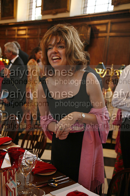 PETRONELLA WYATT, Fund for Refugees in Slovenia Gala Dinner, The Great Hall. Royal Hospital. Chelsea. 12 June 2006. ONE TIME USE ONLY - DO NOT ARCHIVE  © Copyright Photograph by Dafydd Jones 66 Stockwell Park Rd. London SW9 0DA Tel 020 7733 0108 www.dafjones.com
