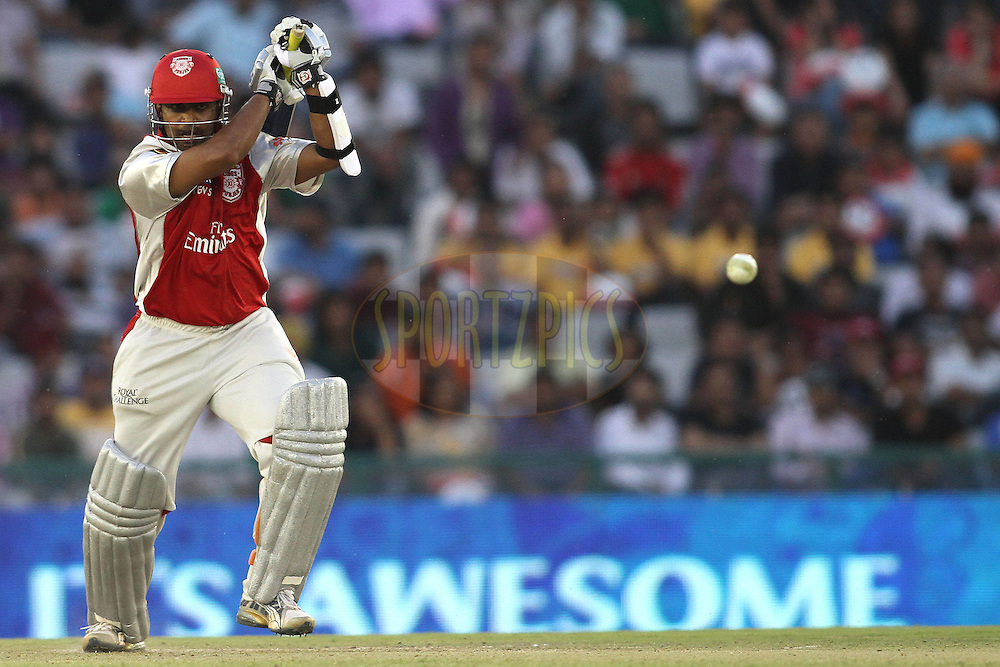 Paul Valthaty of the Kings XI Punjab during match 9 of the Indian Premier League ( IPL ) Season 4 between the Kings XI Punjab and the Chennai Super Kings held at the PCA stadium in Mohali, Chandigarh, India on the 13th April 2011..Photo by Shaun Roy/BCCI/SPORTZPICS