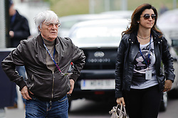 14.05.2011, Red Bull Ring, Spielberg, AUT, RED BULL RING, SPIELBERG, EROEFFNUNG, im Bild Bernie Ecclestone mit seiner Freundin // Bernie Ecclestone with his girl friend during the official Opening for the Red Bull Circuit in Spielberg, Austria, 2011/05/14, EXPA Pictures © 2011, PhotoCredit: EXPA/ S. Zangrando