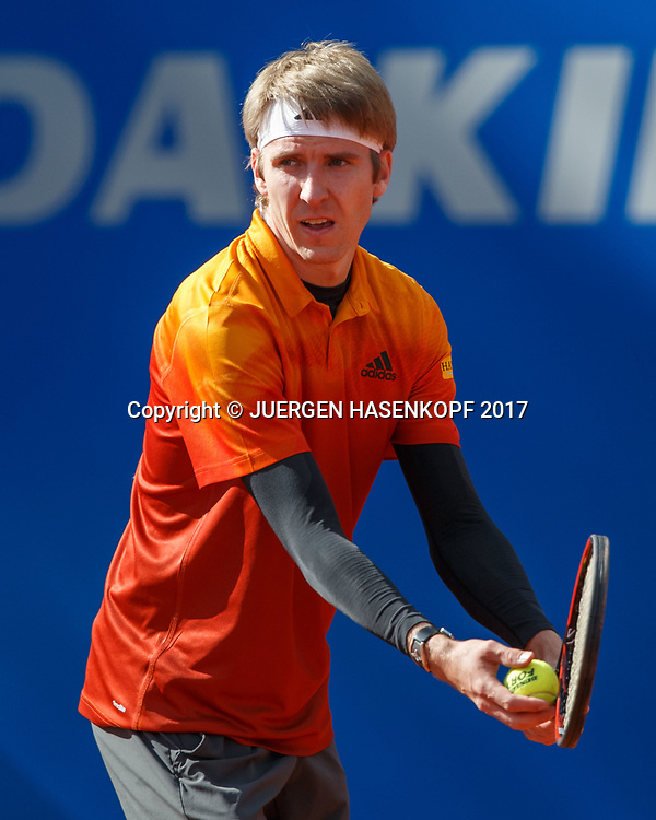 CEDRIK-MARCEL STEBE (GER)<br /> <br /> Tennis - BMW Open2017 -  ATP  -  MTTC Iphitos - Munich -  - Germany  - 2 May 2017.